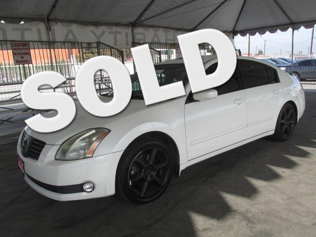 2005 Nissan Maxima 35 SE Please call or e-mail to check availability All of our vehicles are a