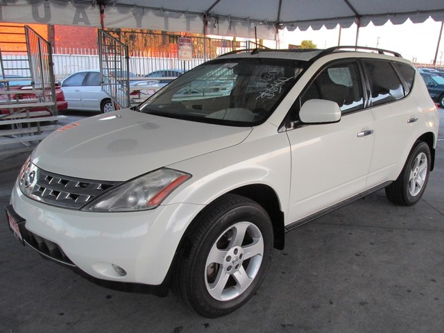 2005 Nissan Murano SL Please call or e-mail to check availability All of our vehicles are availa