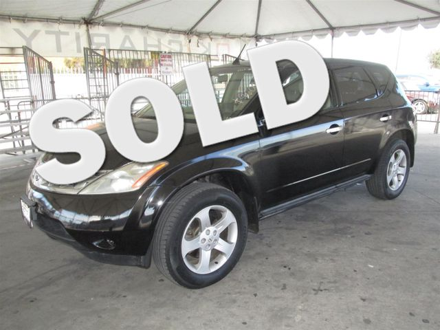 2005 Nissan Murano S Please call or e-mail to check availability All of our vehicles are availa
