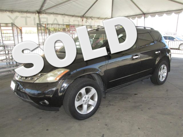 2005 Nissan Murano SL Please call or e-mail to check availability All of our vehicles are avail