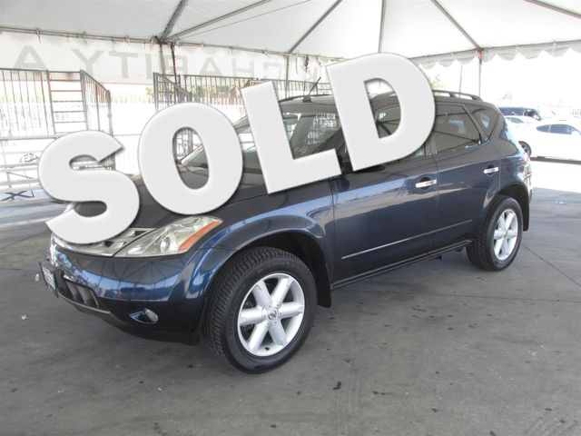 2005 Nissan Murano SE Please call or e-mail to check availability All of our vehicles are avail