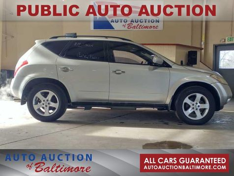 2005 Nissan Murano SL | JOPPA, MD | Auto Auction of Baltimore  in JOPPA, MD