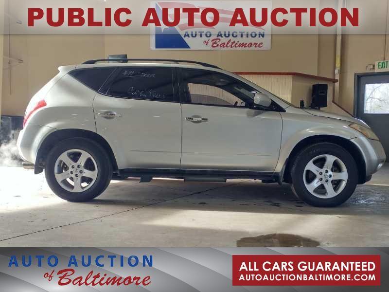2005 Nissan Murano SL | JOPPA, MD | Auto Auction of Baltimore  in JOPPA MD