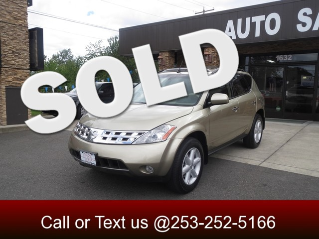 2005 Nissan Murano SE AWD The CARFAX Buy Back Guarantee that comes with this vehicle means that yo