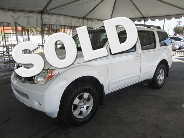 2005 Nissan Pathfinder XE This particular Vehicle comes with 3rd Row Seat Please call or e-mail t