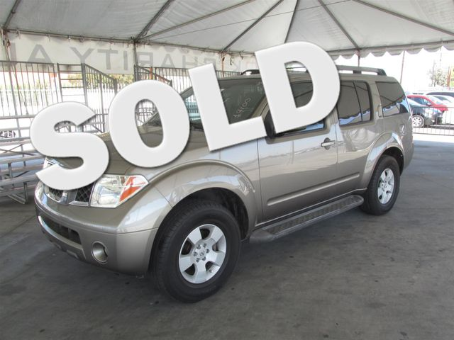 2005 Nissan Pathfinder SE This particular Vehicles true mileage is unknown TMU Please call or