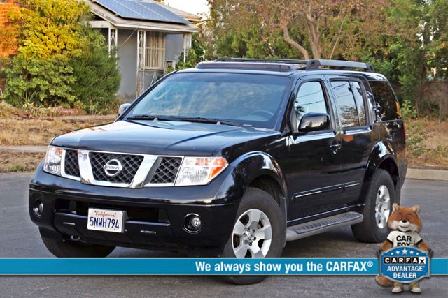 2005 Nissan PATHFINDER SE 3RD ROW SEATS AUTOMATIC ALLOY WHEELS SERIVCE RECORDS Woodland Hills, CA 0