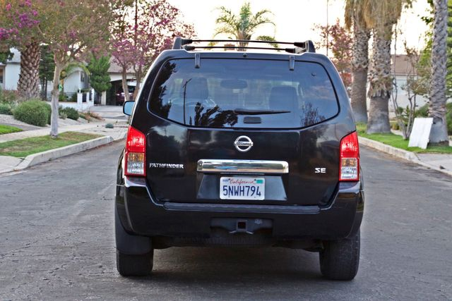 2005 Nissan PATHFINDER SE 3RD ROW SEATS AUTOMATIC ALLOY WHEELS SERIVCE RECORDS Woodland Hills, CA 4