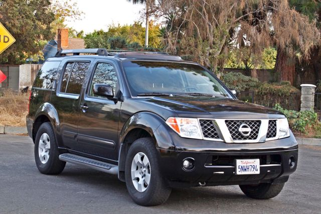 2005 Nissan PATHFINDER SE 3RD ROW SEATS AUTOMATIC ALLOY WHEELS SERIVCE RECORDS Woodland Hills, CA 7