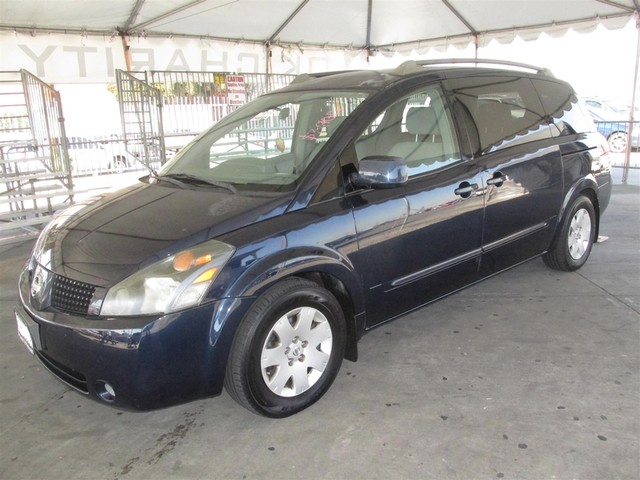 2005 Nissan Quest S This particular Vehicles true mileage is unknown TMU Please call or e-mail