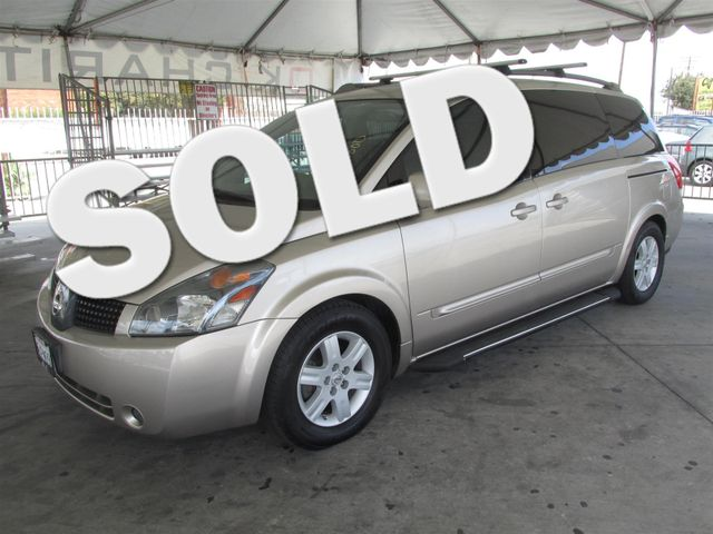 2005 Nissan Quest SL This particular Vehicle comes with 3rd Row Seat Please call or e-mail to che