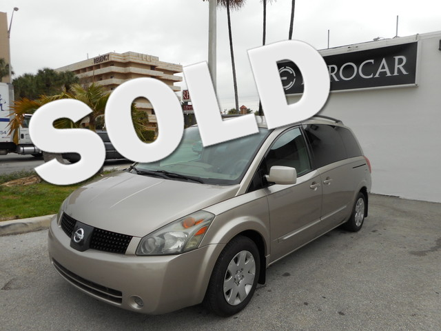 2005 Nissan Quest S THIS BEAUTIFUL 2005 Nissan Quest S IS THE VEHICLE FOR YOUGOOD CREDIT BAD