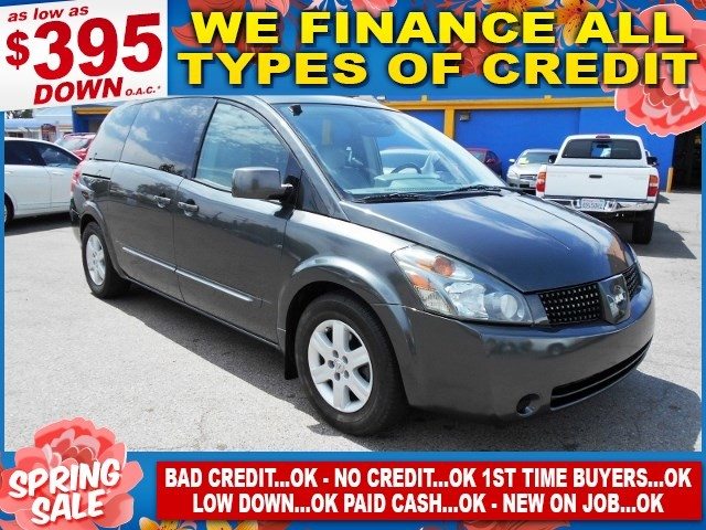 2005 Nissan Quest SL Limited warranty included to assure your worry-free purchase AutoCheck repor