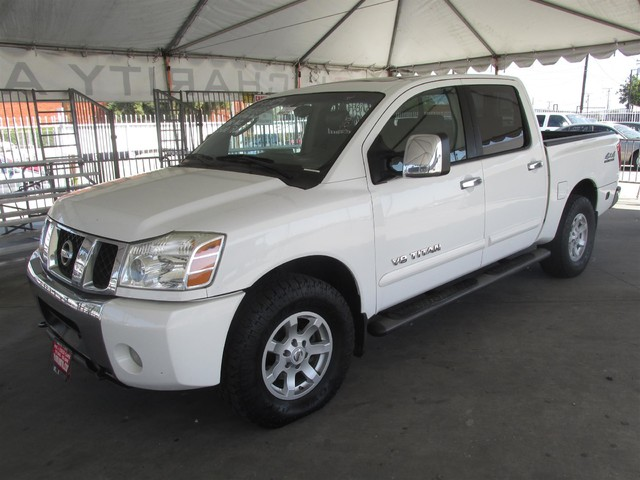 2005 Nissan Titan LE This particular Vehicles true mileage is unknown TMU Please call or e-mai
