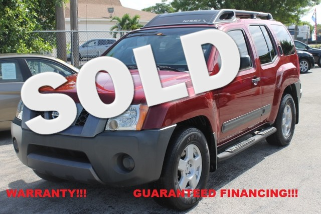 2005 Nissan Xterra S  WARRANTY EXTRA CLEAN FLORIDA VEHICLE  If you are looking for a Reli