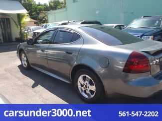 2005 Pontiac Grand Prix Lake Worth , Florida 2