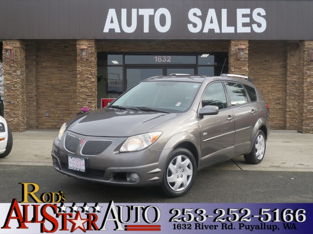 2005 Pontiac Vibe The CARFAX Buy Back Guarantee that comes with this vehicle means that you can bu