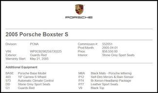 2005 Porsche Boxster in Carrollton TX