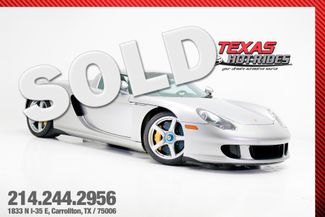 2005 Porsche Carrera GT  | Carrollton, TX | Texas Hot Rides in Carrollton