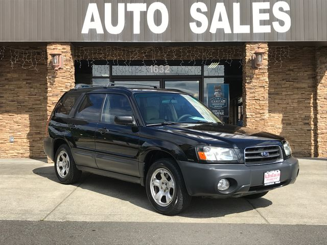2005 Subaru Forester 25X New Price Clean CARFAX Black 2005 Subaru Forester 25X AWD 25L H4 SMP