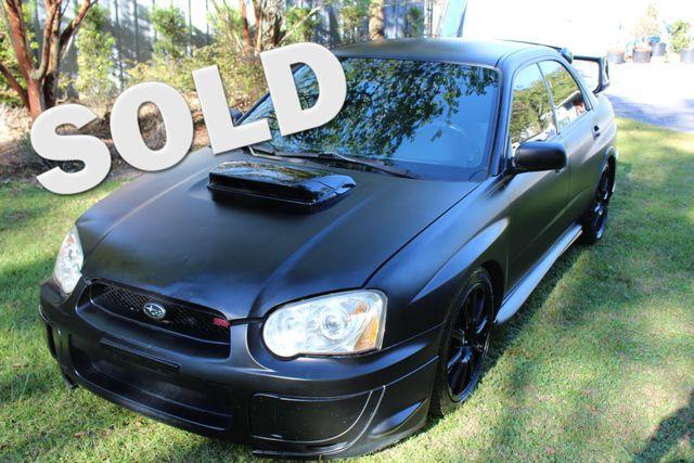 2005 Subaru Impreza WRX STi w/Silver Wheels | Charleston, SC | Charleston Auto Sales in Charleston SC