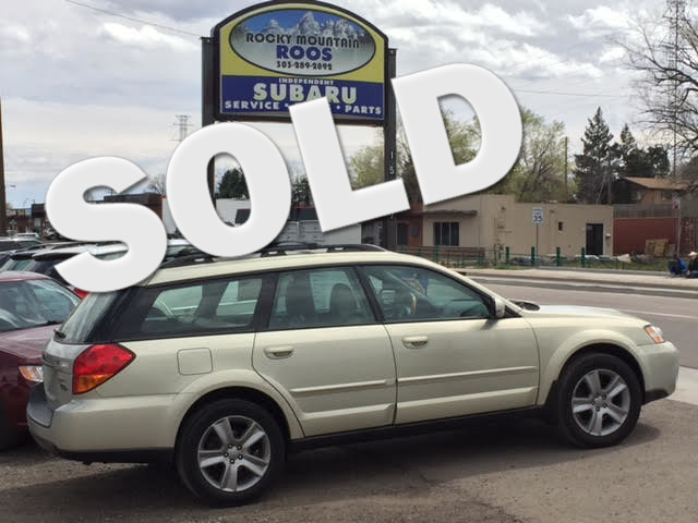 2005 Subaru Outback 3.0L L.L. Bean Edition = 1-OWNER = Loaded = 6-Cyl Golden, Colorado 0