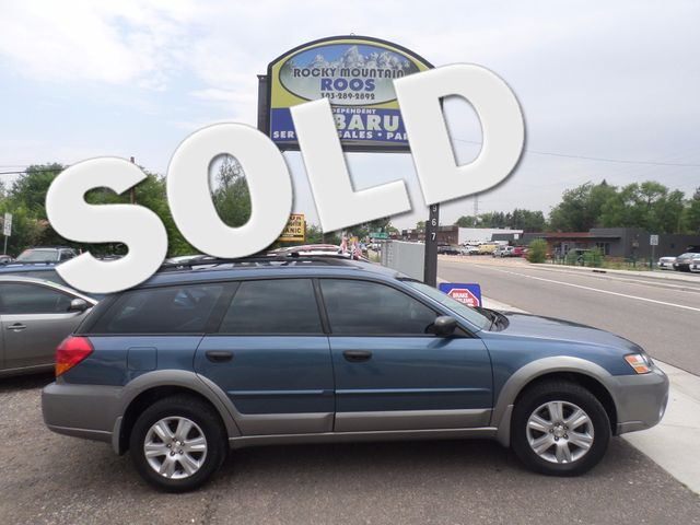 2005 Subaru Outback Golden, Colorado 0