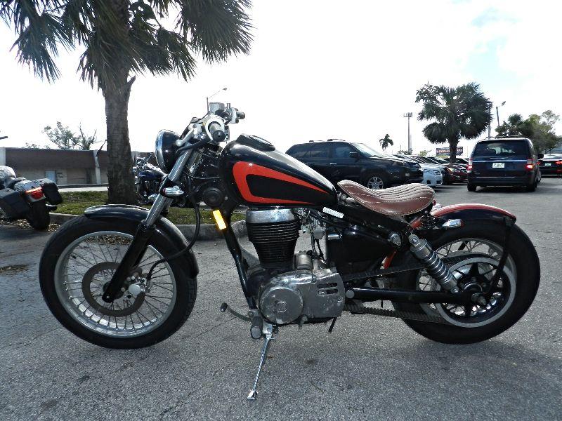 2005 Suzuki Boulevard S40 CUSTOM BOBBER SAVE   WARRANTY  city Florida  MC Cycles  in Hollywood, Florida