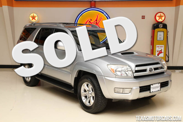 2005 Toyota 4Runner SR5 Sport Financing is available with rates as low as 29 wac Get pre-appr