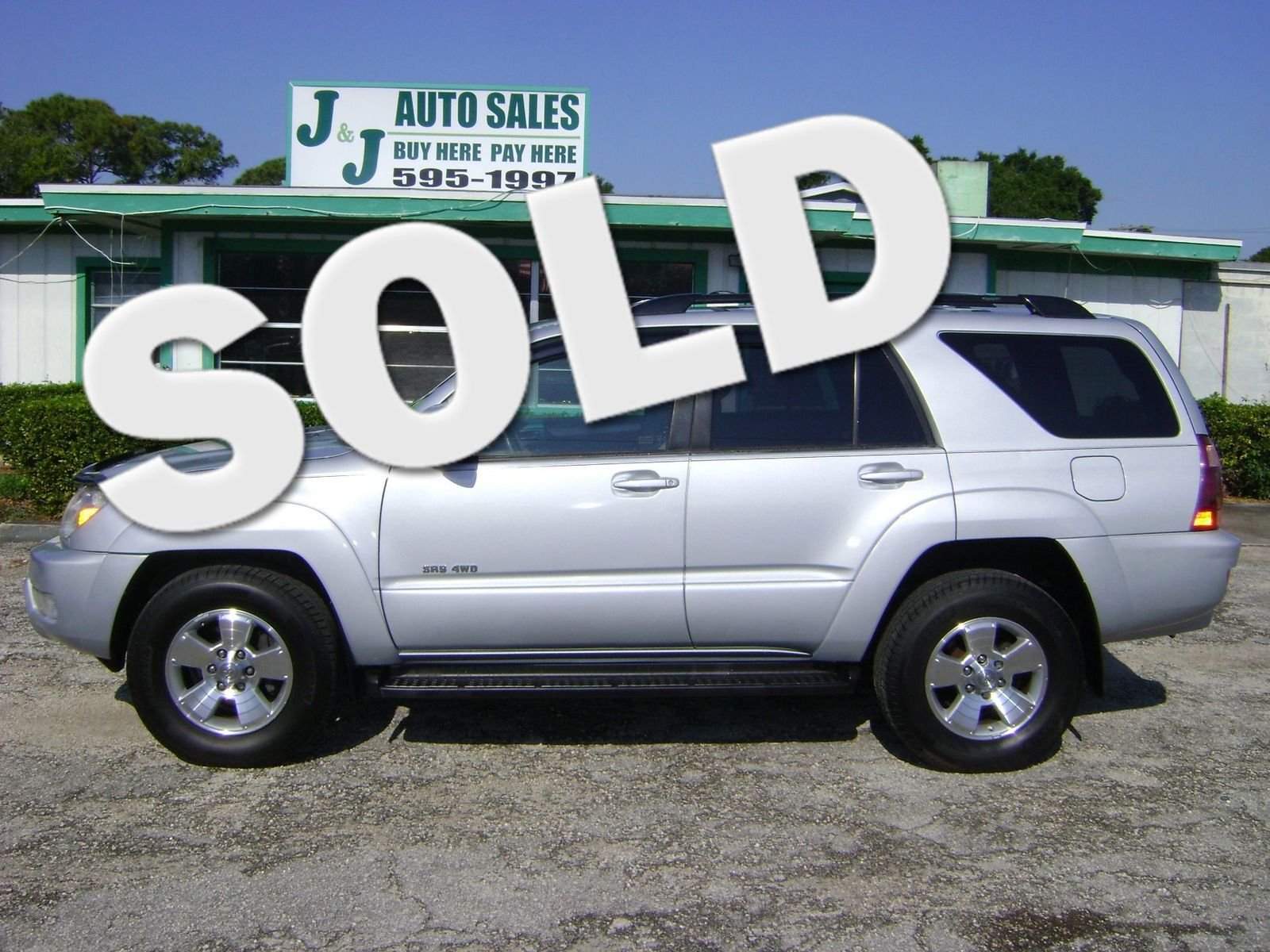 2005 Toyota 4Runner SR5 4 WHEEL DRIVE