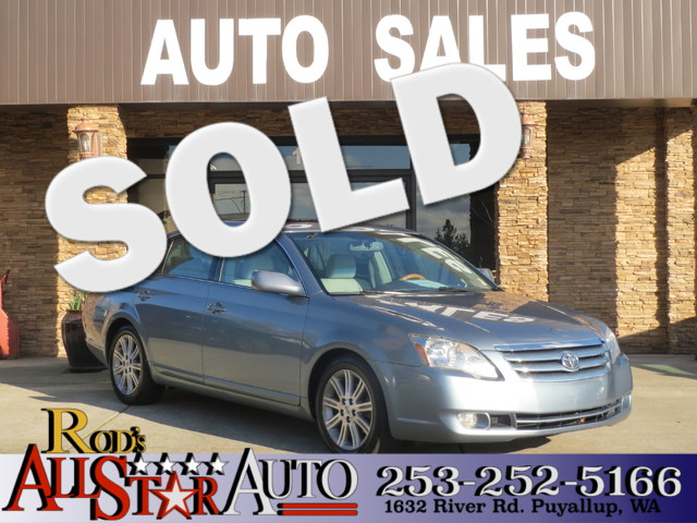2005 Toyota Avalon Limited The CARFAX Buy Back Guarantee that comes with this vehicle means that y