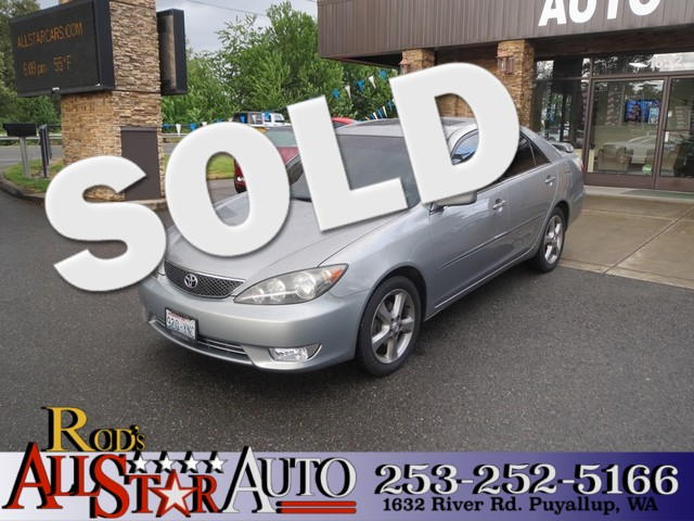 2005 Toyota Camry SE The CARFAX Buy Back Guarantee that comes with this vehicle means that you can