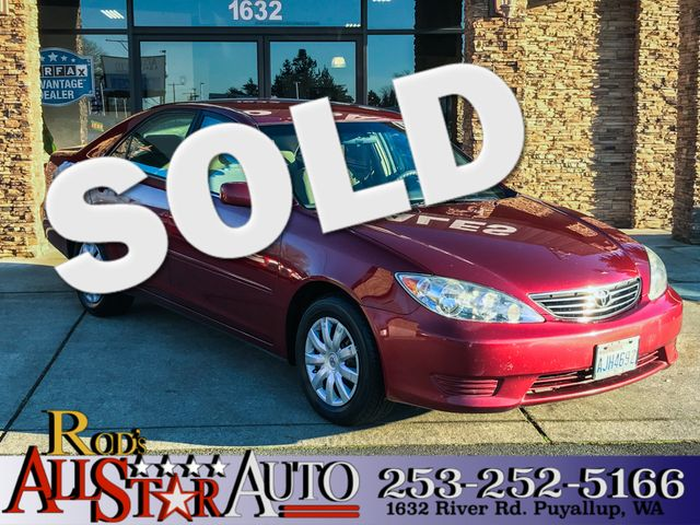 2005 Toyota Camry LE This vehicle is a CarFax certified one-owner used car Pre-owned vehicles can