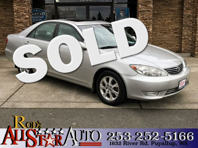 2005 Toyota Camry XLE This vehicle is a CarFax certified one-owner used car Pre-owned vehicles ca
