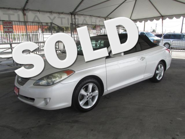 2005 Toyota Camry Solara SE Please call or e-mail to check availability All of our vehicles are