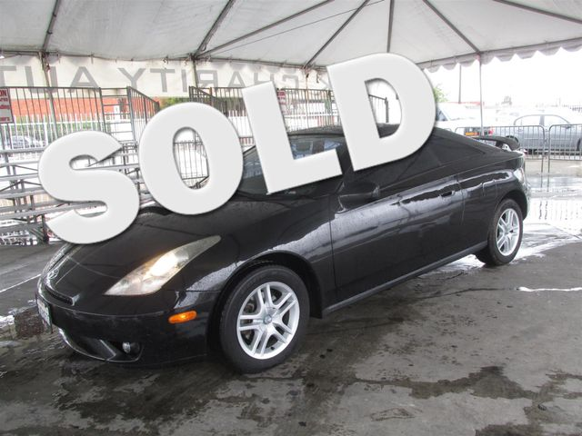 2005 Toyota Celica GT Please call or e-mail to check availability All of our vehicles are avail