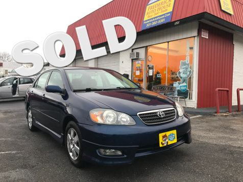 2005 Toyota Corolla S in Frederick, Maryland