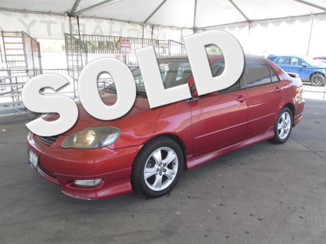 2005 Toyota Corolla XRS Please call or e-mail to check availability All of our vehicles are ava