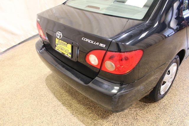 2005 Toyota Corolla LE Roscoe, Illinois 4