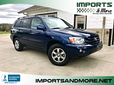 2005 Toyota Highlander V6 w/ 3rd Row in Lenoir City, TN