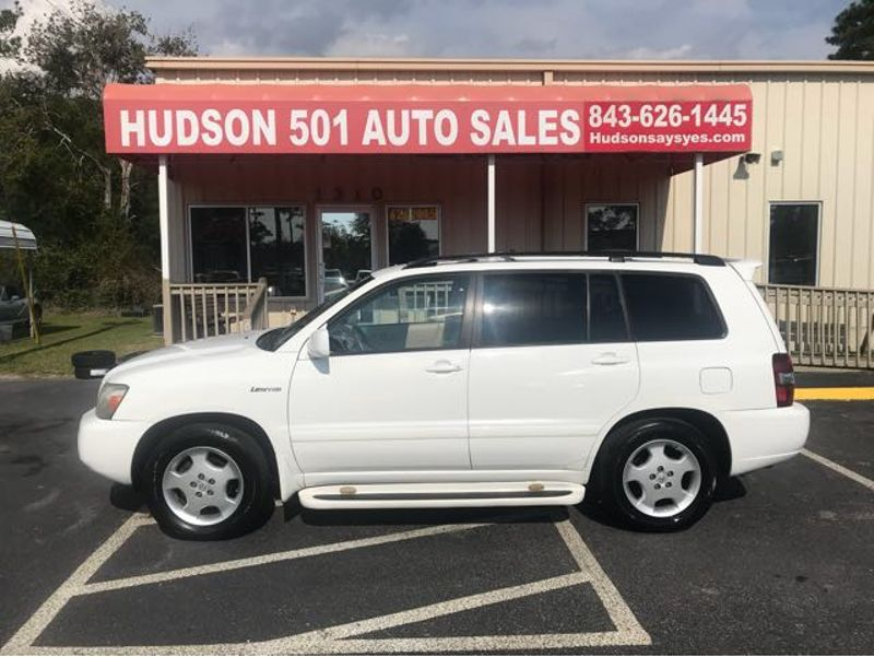 2005 Toyota Highlander V6 2WD with 3rd-Row Seat | Myrtle Beach, South Carolina | Hudson Auto Sales in Myrtle Beach South Carolina