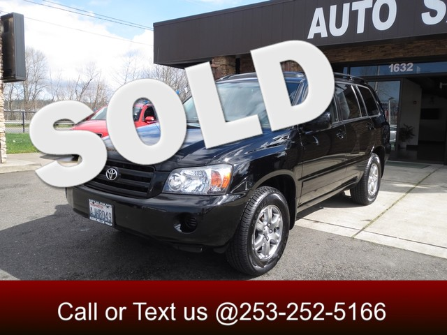 2005 Toyota Highlander AWD If you want a reliable suv that can drive in any weather conditions the