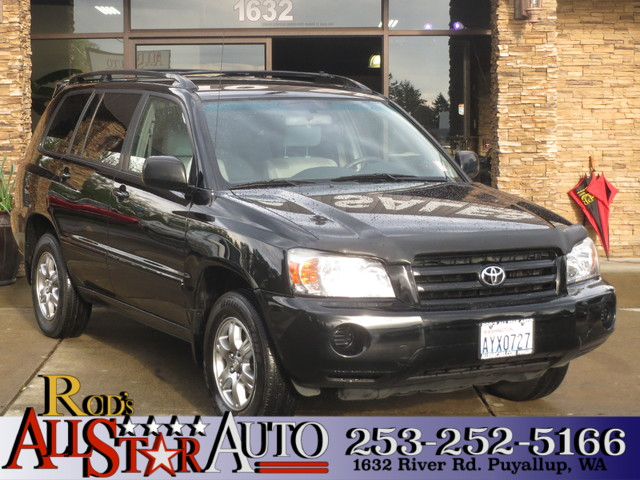 2005 Toyota Highlander AWD The CARFAX Buy Back Guarantee that comes with this vehicle means that y