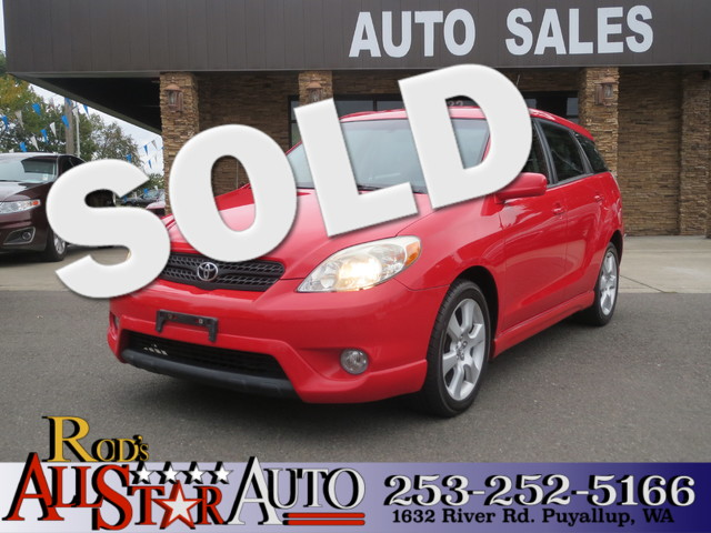 2005 Toyota Matrix XR The CARFAX Buy Back Guarantee that comes with this vehicle means that you ca