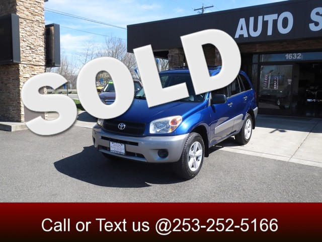 2005 Toyota RAV4 AWD The CARFAX Buy Back Guarantee that comes with this vehicle means that you can