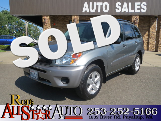 2005 Toyota RAV4 The CARFAX Buy Back Guarantee that comes with this vehicle means that you can buy