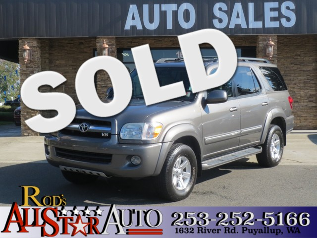 2005 Toyota Sequoia SR5 4WD The CARFAX Buy Back Guarantee that comes with this vehicle means that