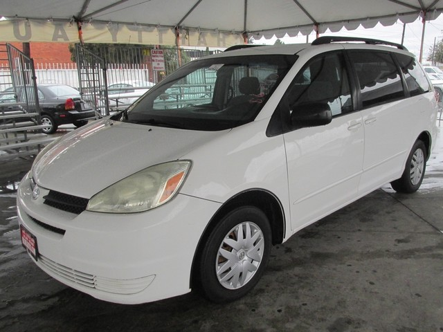 2005 Toyota Sienna LE This particular Vehicles true mileage is unknown TMU Please call or e-mai
