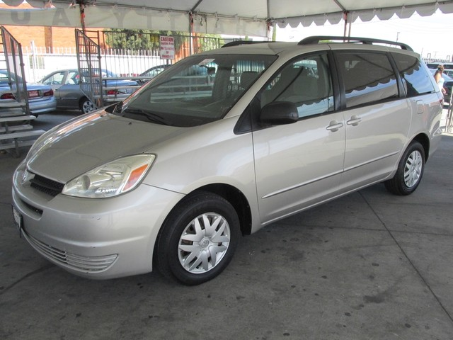 2005 Toyota Sienna LE This particular Vehicle comes with 3rd Row Seat Please call or e-mail to ch