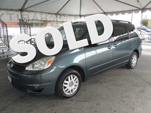 2005 Toyota Sienna LE This particular Vehicles true mileage is unknown TMU Please call or e-ma